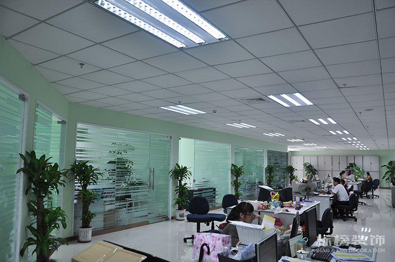 一品轩总部办公室和厂房装修5