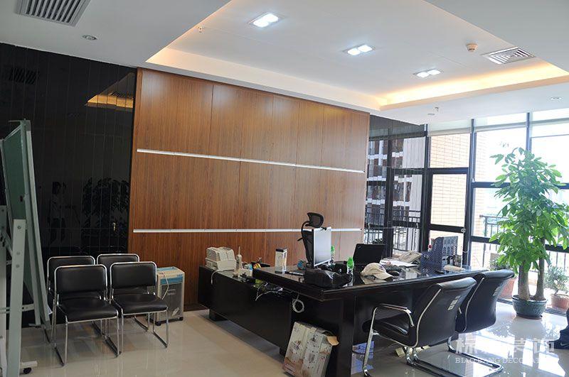 一品轩总部办公室和厂房装修8