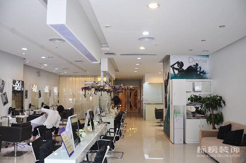 C&T卡顿女性发型顾问连锁美发店装修