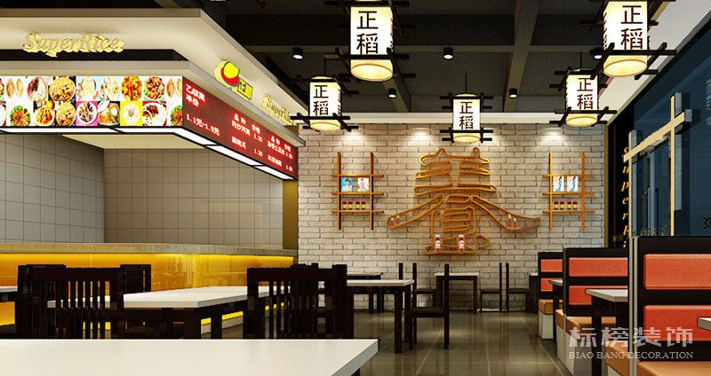 深圳正稻餐厅装修4