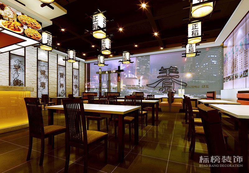 深圳正稻餐厅装修5
