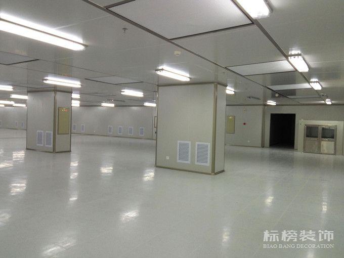 帝晶光电科技厂房装修1