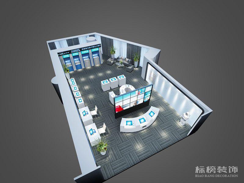 奔腾达电子展厅设计装修5