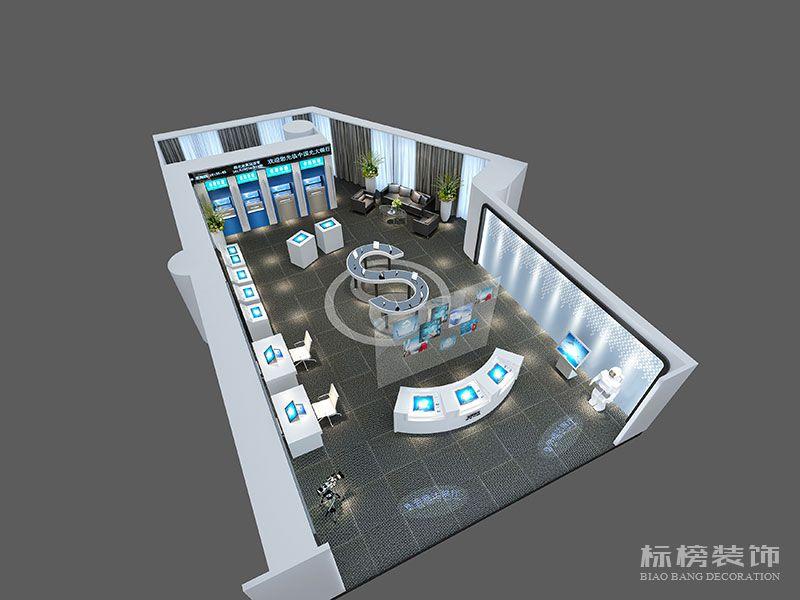 奔腾达电子展厅设计装修6