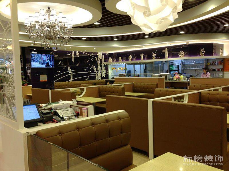 伟旺中式快餐厅装修图片