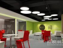 办公室装修空间的分隔与联系