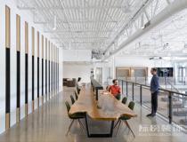 欣赏优步办公室装修图